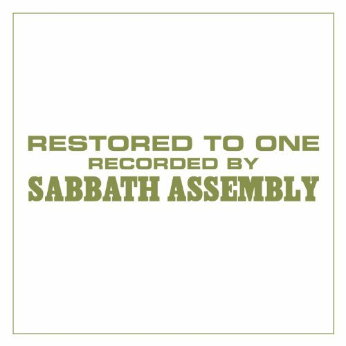 Sabbath Assembly Restored To One