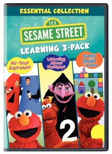 Sesame Street Essentials Collection Learnin Nr 3 DVD