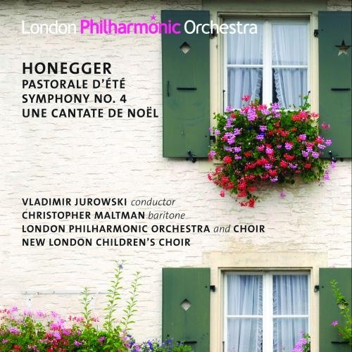 A. Honegger Symphony No.4 & Christmas Cant London Philharmonic Orchestra