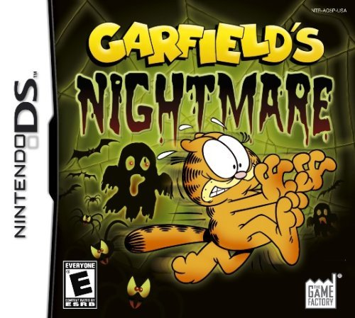 Nintendo Ds Garfield Nightmares American Game Factory E