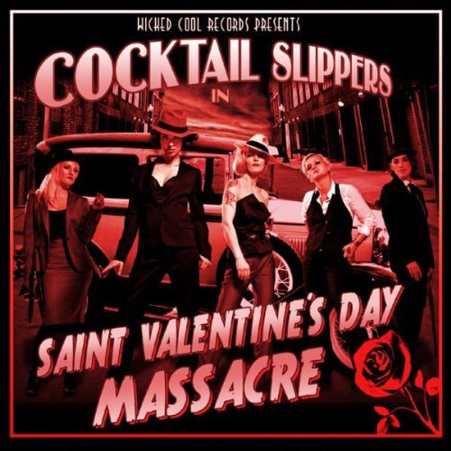 Cocktail Slippers Saint Valentine's Day Massacre