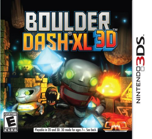 Nintendo 3ds Boulder Dash 9 Solutions 2 Go Inc. E