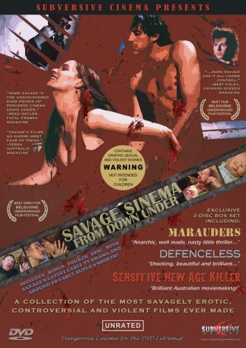 Savage Sinema From Down Under Savage Sinema From Down Under Clr Nr 3 DVD Set