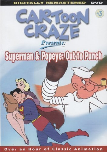 Multi Superman & Popeye Out To Punch [slim Case]