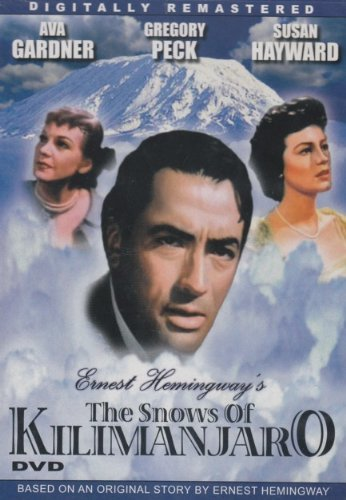 Gregory Peck Susan Hayward Ava Gardner Ernest Hemi The Snows Of Kilimanjaro [slim Case]