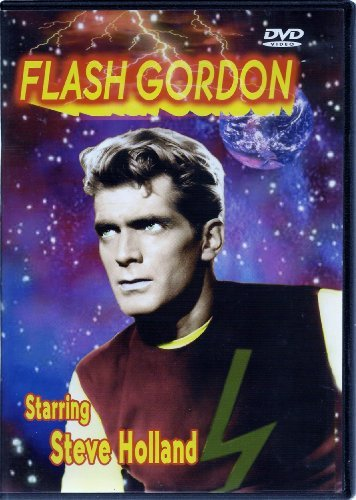 Steve Holland Flash Gordon ~ DVD ~