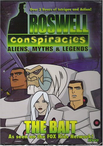 Animated Roswell Conspiracies Aliens Myths & Legends Th