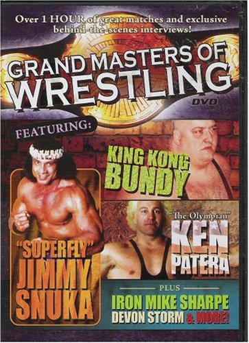 Grand Masters Of Wrestling Bundy Patera Snuka