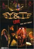Y & T Live One Hot Night 2 DVD Incl. CD