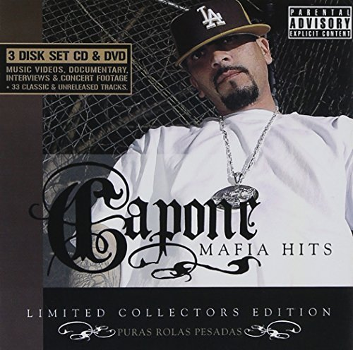 Capone Mafia Hits Explicit Version 2 CD 1 DVD