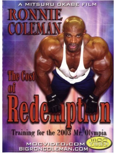 Ronnie Coleman Cost Of Redemption Nr