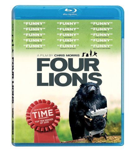 Four Lions Cumberbatch Adamsdale Ahmed Blu Ray Ws R