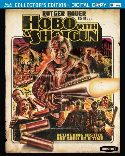 Hobo With A Shotgun Hauer Rutger Blu Ray Ws R