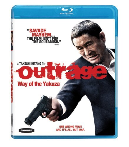 Outrage Way Of The Yakuza Kitano Kase Blu Ray Ws R