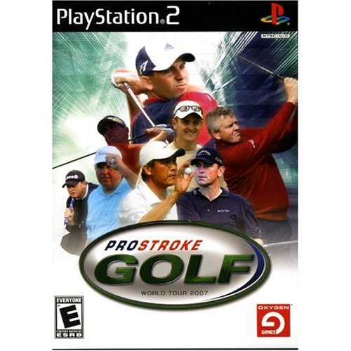 Ps2 Pro Stroke Golf 2007 World To South Peak Interactive