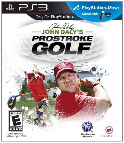 Ps3 John Daly's Prostroke Golf O Games Usa E