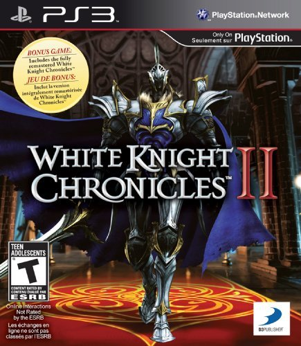 Ps3 White Knight Chronicles 2 Rp