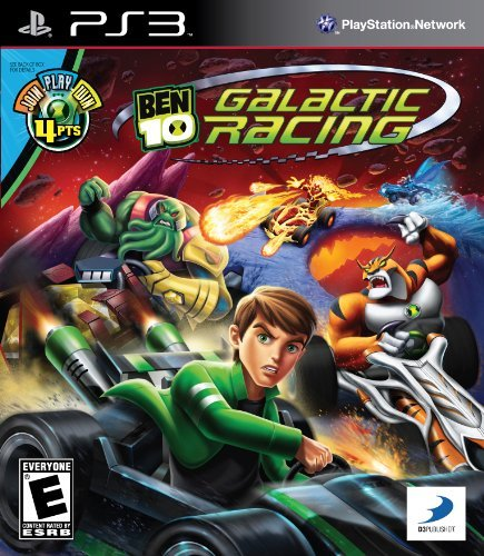 Ps3 Ben 10 Galactic Racing