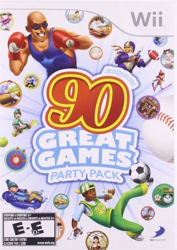 Wii Family Party 90 Great Games Party Pack