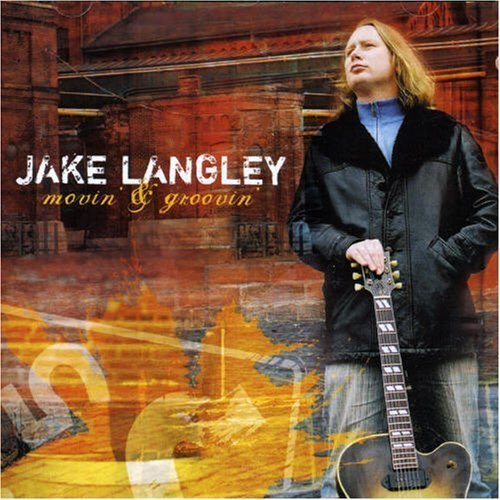 Jake Langley Movin & Groovin Enhanced CD