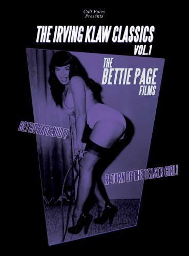 Irving Klaw Classics Vol. 1 Bettie Page Films Bw Nr