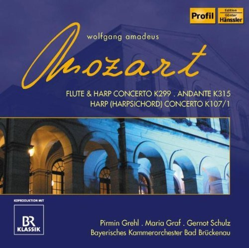 Wolfgang Amadeus Mozart Concertos For Flute & Harp