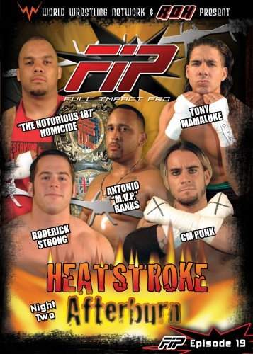 World Wrestling Network Presen Fip Heatstroke The Afterburn Nr 2 DVD