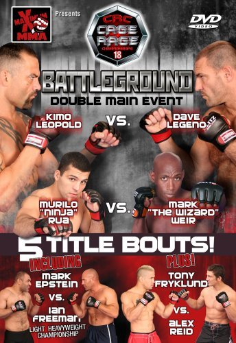 Maximum Mma Presents Cage Rage 18 Battleground Nr