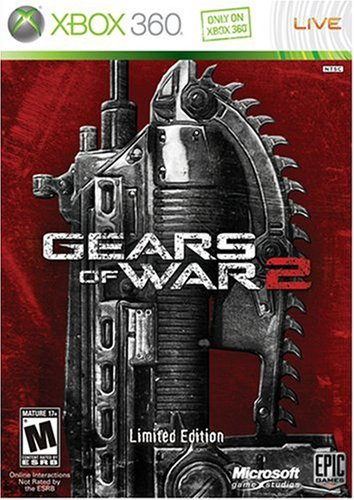 Xbox 360 Gears Of War 2 Limited Edition