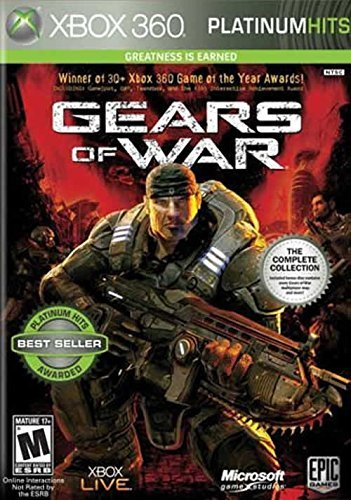 Xbox 360 Gears Of War (w Bonus Disc Pre Microsoft Corporation M