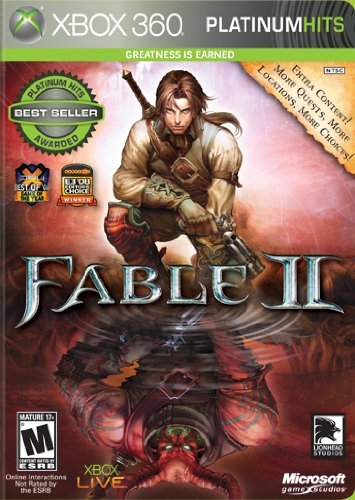 Xbox 360 Fable 2 Platinum Hits Microsoft Corporation M