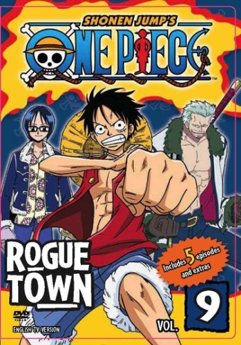 One Piece Vol. 9 Rogue Town Edited Nr