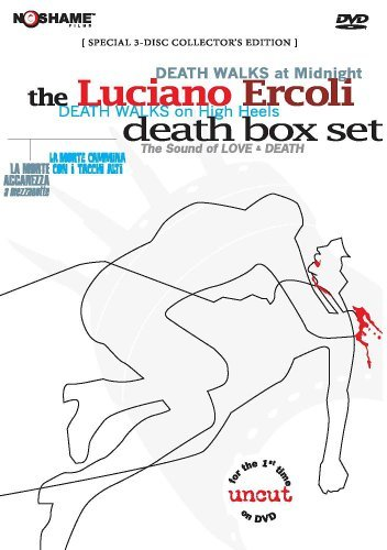 Death Walks On High Heels Deat Luciano Ercoli's Death Box Set Clr Eng Sub 3 DVD Set