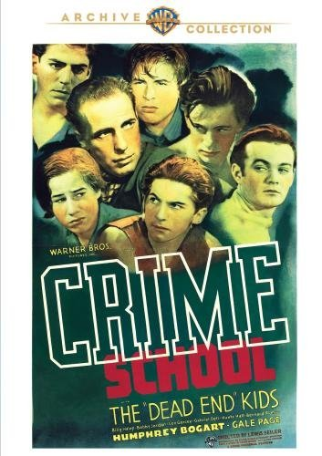Crime School Bogart Page Halop Made On Demand Nr
