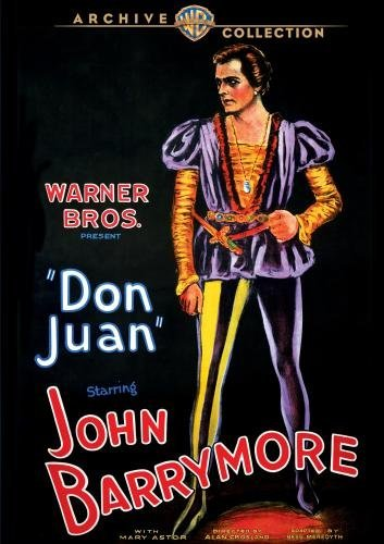 Don Juan Barrymore Astor Louis DVD Mod This Item Is Made On Demand Could Take 2 3 Weeks For Delivery