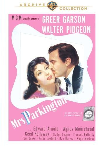 Mrs. Parkington Moorehead Pidgeon Garson Bw DVD R Nr