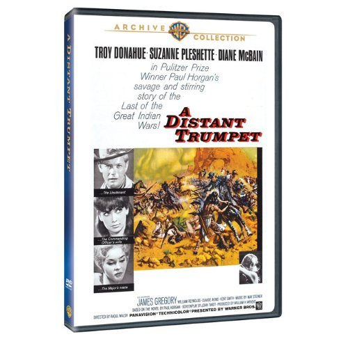 Distant Trumpet Donahue Pleshette Mc Bain DVD Mod This Item Is Made On Demand Could Take 2 3 Weeks For Delivery