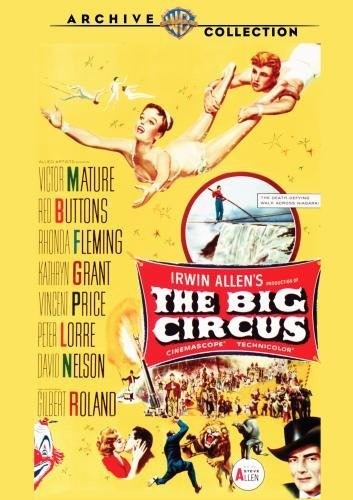 Big Circus Price Lorre Buttons Ws DVD R Nr