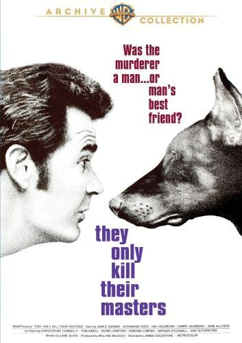 They Only Kill Their Masters Garner Ross Holbrook DVD R Ws Pg