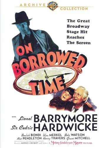 On Borrowed Time Barrymore Hardwicke Bondi Bw DVD R Nr