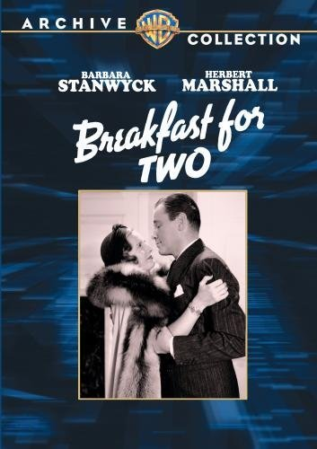Breakfast For Two Stanwyck Marshall Farrell Bw DVD R Nr