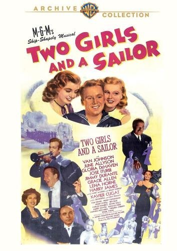 Two Girls & A Sailor Johnson Allyson Drake DVD Mod This Item Is Made On Demand Could Take 2 3 Weeks For Delivery