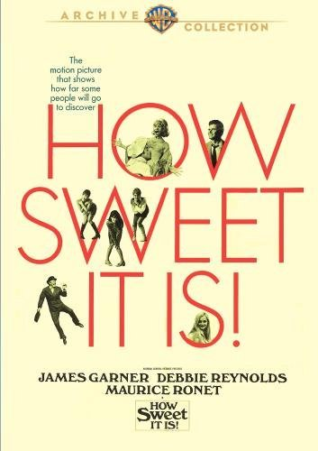 How Sweet It Is! Garner Reynolds Ronet DVD R Ws Nr