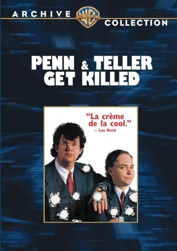 Penn & Teller Get Killed Jillette Teller Mcguire DVD Mod This Item Is Made On Demand Could Take 2 3 Weeks For Delivery
