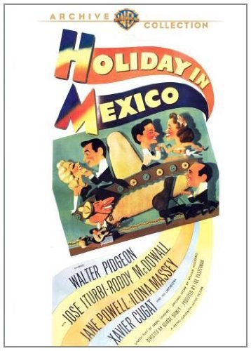 Holiday In Mexico Pidgeon Iturbe Mcdowell DVD Mod This Item Is Made On Demand Could Take 2 3 Weeks For Delivery