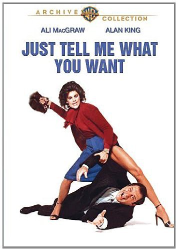 Just Tell Me What You Want Macgraw King Weller DVD R Ws R