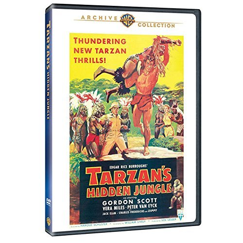 Tarzan's Hidden Jungle Scott Miles Eyck Ws DVD R Nr