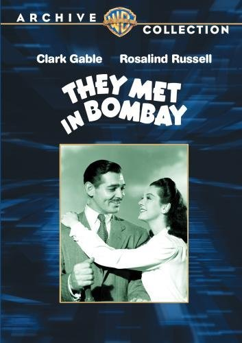 They Met In Bombay Gable Russell Lorre Made On Demand Nr