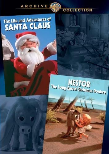 Life & Adventures Of Santa Clause Nestor The Christmas Donkey DVD R Nr