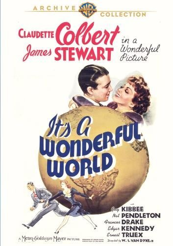 It's A Wonderful World Colbert Stewart Kibbee Bw DVD R Nr